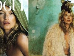 Kate Moss e noul fashion editor Vogue UK