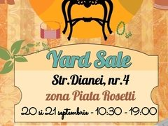 YARD SALE de septembrie: fashion, chilipiruri si un brunch delicios